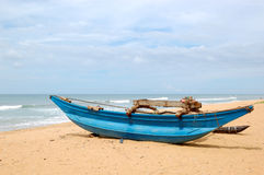 The traditional Sri Lanka's boat Stock Images