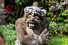 Traditional Statue in Bali, Indonesia. Traditional hindu Statue in Bali, Indonesia Royalty Free Stock Images
