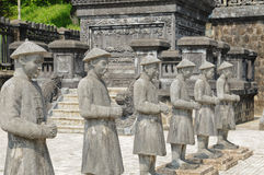 Traditional statue of Khai-Dinh. (Vietnam Stock Photo
