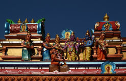 Traditional statues of gods and goddesses Stock Images