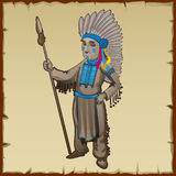 Traditional statuette of the Indians Stock Images