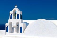 Traditional steeple at Santorini, Greece Royalty Free Stock Photography