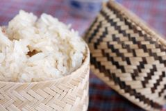 Traditional Sticky Rice Royalty Free Stock Photography