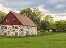Traditional stone barn Royalty Free Stock Photos
