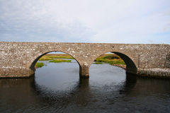 Traditional stone bridge Royalty Free Stock Photography