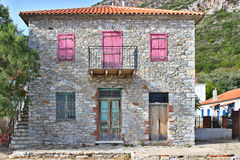Traditional stone house Royalty Free Stock Image