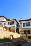 Traditional stone house at Kastoria(Makedonia,Gree Stock Photography