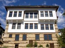 Traditional stone house at Kastoria(Makedonia,Gree. Traditional house at Doltso Kastorias, Macedonia,Greece Stock Photography