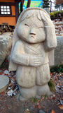 Traditional Stone Statue in South Korea Stock Image