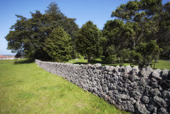 Traditional Stone Wall Stock Images