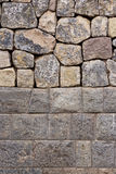 Traditional stone walls of Cuzco. A close up on one of the traditional walls on the streets of Cuzco, Peru Stock Photos