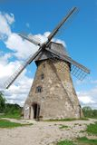Traditional stone Windmill Stock Image