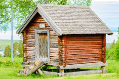 Traditional storage building Royalty Free Stock Images