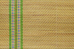 Traditional Straw Mat Royalty Free Stock Photo