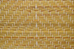 Traditional Straw Mat Royalty Free Stock Image