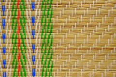 Traditional Straw Mat Stock Photography