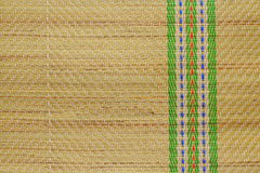 Traditional Straw Mat Royalty Free Stock Photos