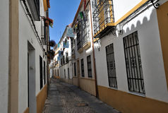 Traditional street architecture, Cordoba, Spain Stock Photography