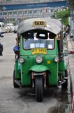 Traditional street taxi Royalty Free Stock Photo