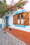 Traditional streets and architecture of Portugal. Royalty Free Stock Photo