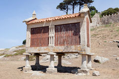 Traditional structure in northwestern Spain Royalty Free Stock Photo