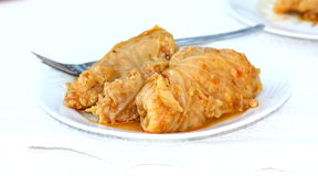 Traditional stuffed cabbage Royalty Free Stock Photography