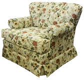 Traditional Style Accent Chair Stock Photography
