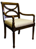 Traditional Style Accent Side Chair Stock Photo