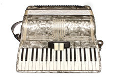 A traditional style accordion Stock Photo