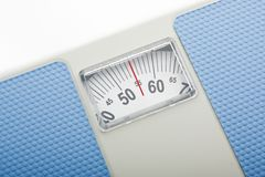 Traditional Style Bathroom Scales Royalty Free Stock Image