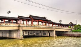 Traditional-style bridge in Suzhou Royalty Free Stock Photos
