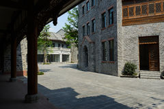 Traditional style buildings,Chengdu Royalty Free Stock Photography