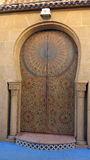 Traditional style doors, Morocco Royalty Free Stock Photography