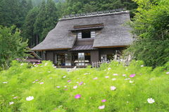 Traditional style Japanese country house Stock Image