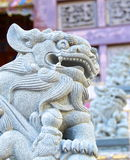 The traditional style of lion guardian Royalty Free Stock Images