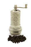 Traditional style pepper mill Stock Photo