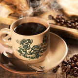 Traditional style Singaporean Chinese coffee in vintage mug Royalty Free Stock Photo