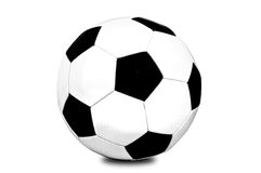 Traditional style soccer ball Stock Photography