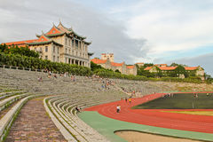 Traditional style of stadium Stock Images
