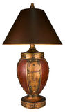 Traditional Style Table Lamp and Shade Royalty Free Stock Images