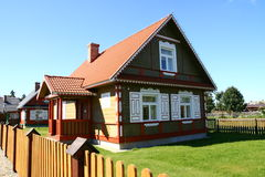 Traditional style village house Royalty Free Stock Photography