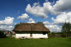 Traditional style village house. In Poland Stock Image