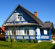 Traditional style village house Royalty Free Stock Image