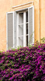 Traditional Style Window Frame Royalty Free Stock Photo