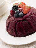Traditional Summer Pudding Royalty Free Stock Image