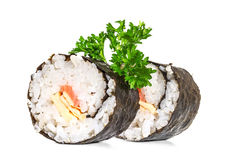 Traditional sushi Stock Image