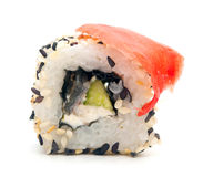 Traditional sushi rolls Stock Image