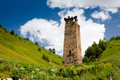 Traditional svan tower Royalty Free Stock Image