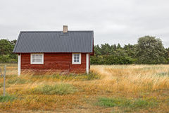 Traditional Swedish house Stock Images