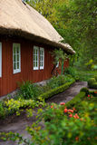 Traditional swedish house in Skansen. Royalty Free Stock Photo